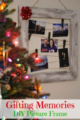 DIY Pallet Wood Picture Frame Gift