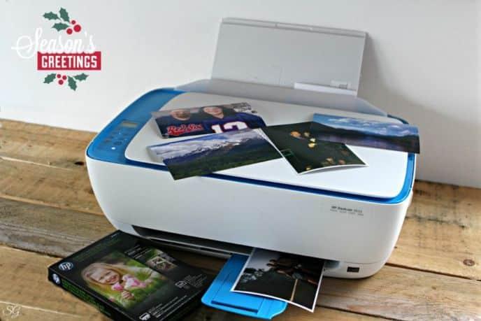 DIY Pallet Photo Frame and HP Photo Printer