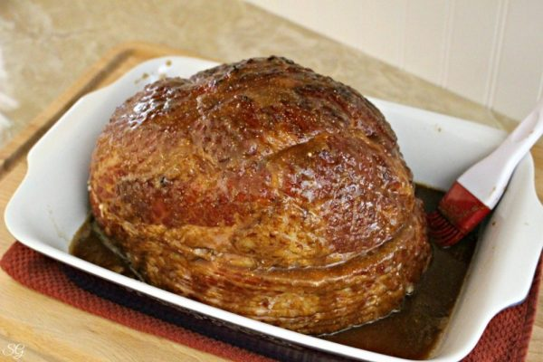 Glazing Hormel Cure 81 Cherrywood Ham