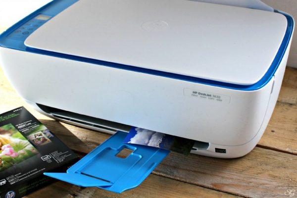HP 3632 Wireless Photo Printer