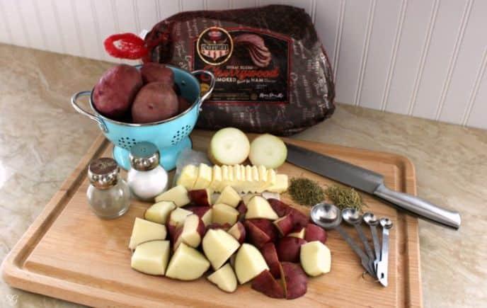 Christmas Dinner Ingredients