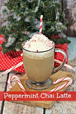 Easy Peppermint Chai Latte Recipe