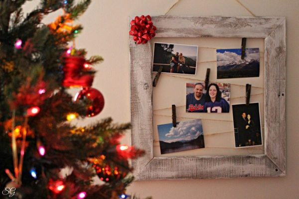DIY Picture Frame Gift Idea