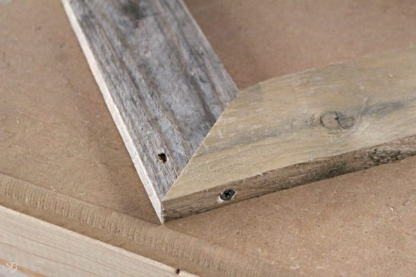 Fastening Picture Frame Together