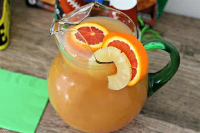 Super Bowl Football Punch Recipe