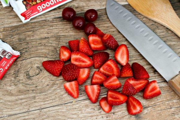 Strawberries for Coconut Water Recipe