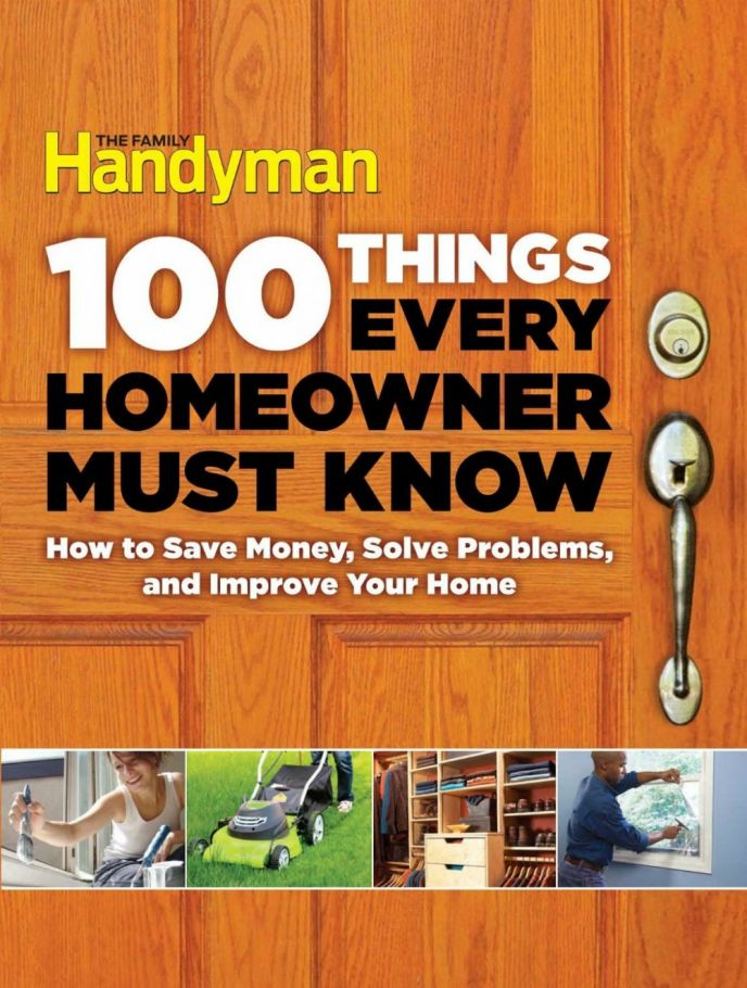 The Family Handyman Homeowner DIY Book
