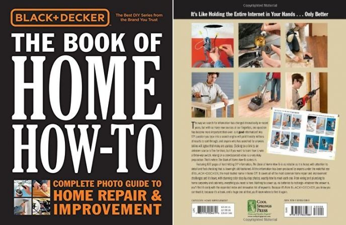 Black and Decker Home Repair Book