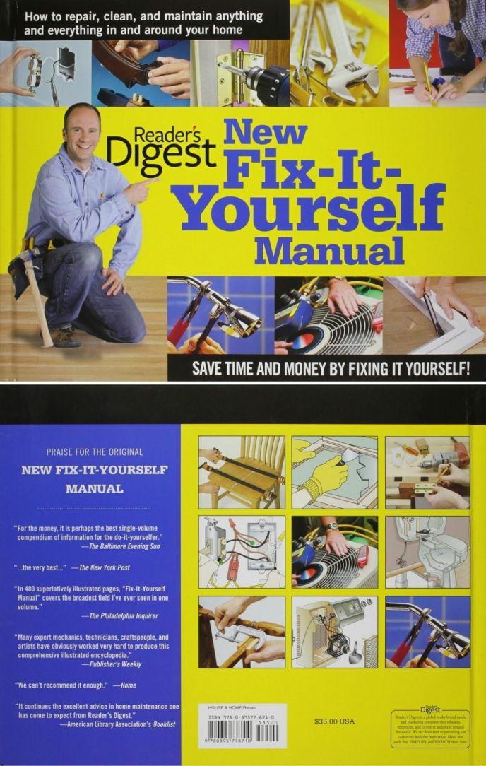 Fix It Yourself Home Repair and DIY Improvement