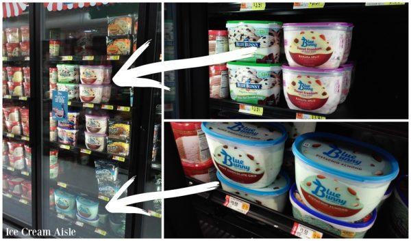 Blue Bunny Ice Cream at Walmart
