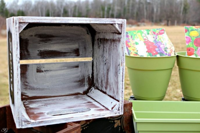 Fun Wooden Planter Box