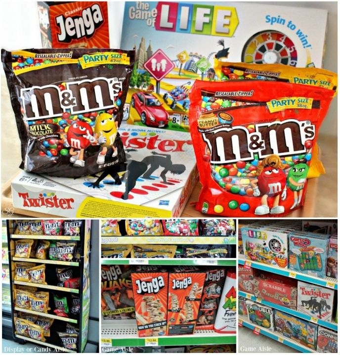 Game Night In Games and Snacks at Walmart