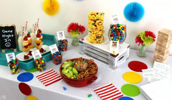 Game Night Party Table