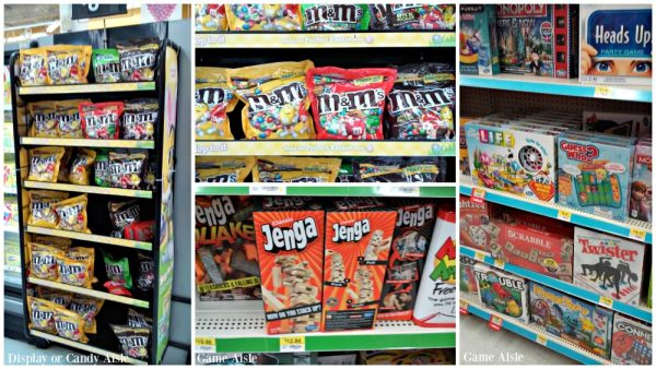 Games and Candy at Walmart