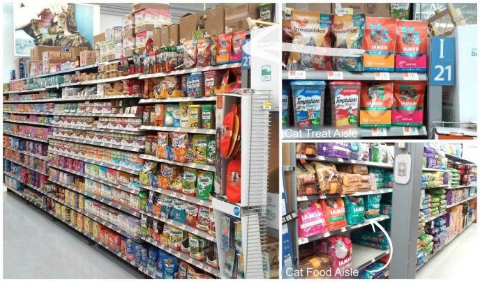 Iams Cat Treats and Food at Walmart
