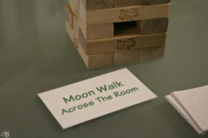 Jenga Game With a Twist, Game Cards