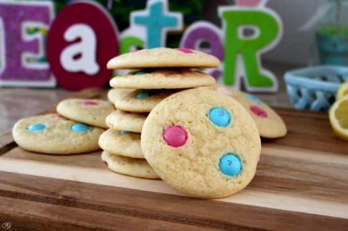 Lemon Drop Easter Cookies