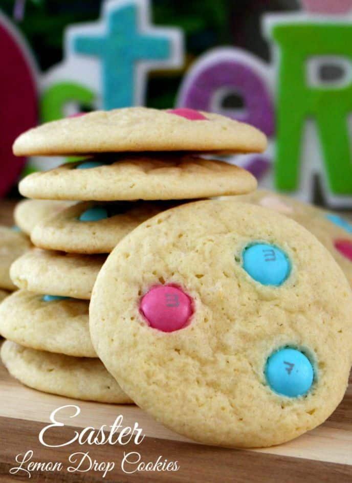Lemon Drop Cookies for Easter
