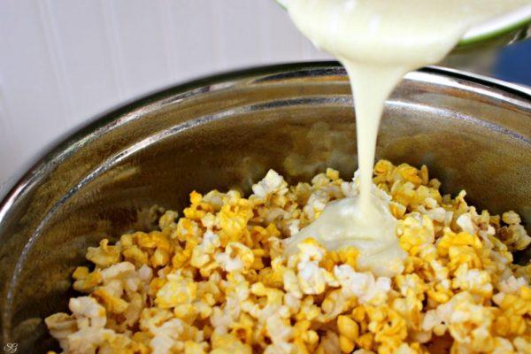 Marshmallow and Popcorn Dessert Recipe