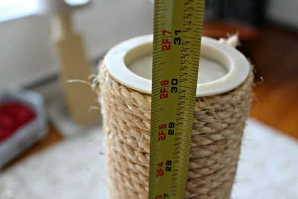 How to Measure Sisal for Cat Scratch Post