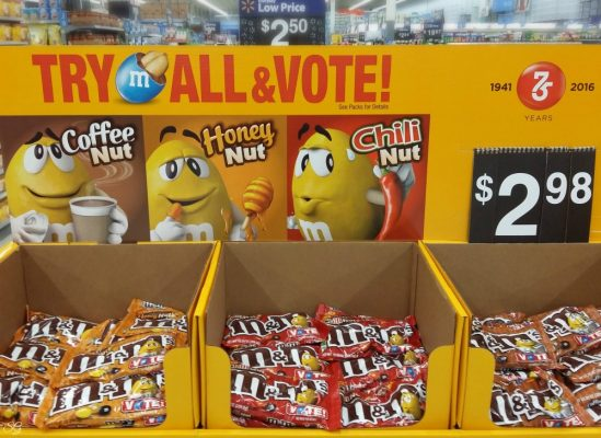 Vote For Your Favorite M&M's Flavor