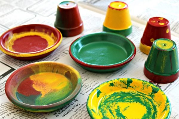 Learn how to make terra cotta sombreros