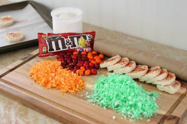Spicy Cookie Taco Ingredients