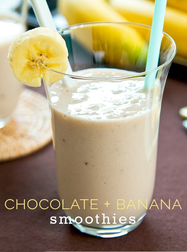 Easy Chocolate Banana Smoothie Recipe
