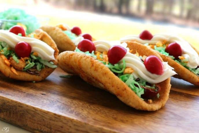 Taco Cookie Dessert Recipe