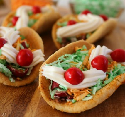 Taco Cookie Desserts