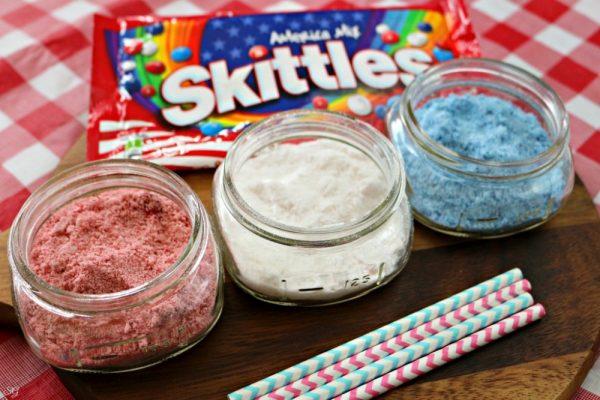 Frozen Skittles Dessert Recipe