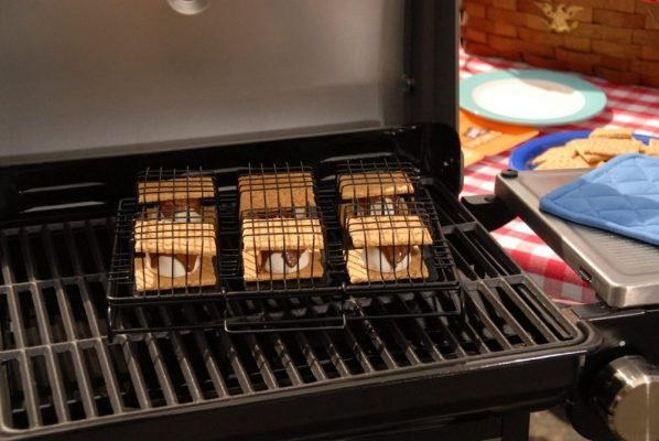 BBQ Grill Basket for S'mores Desserts