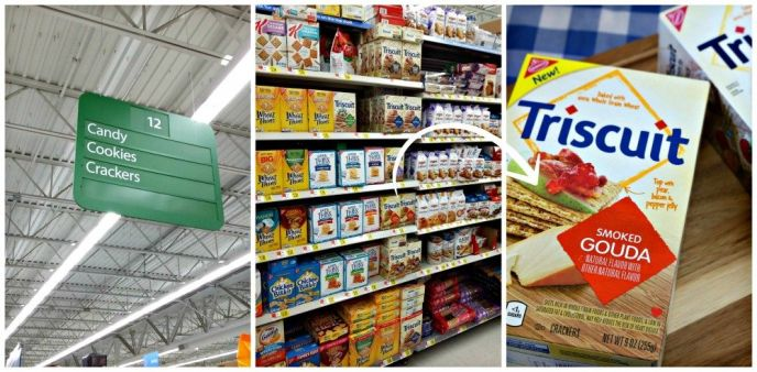 Walmart Smoked Gouda TRISCUIT Crackers
