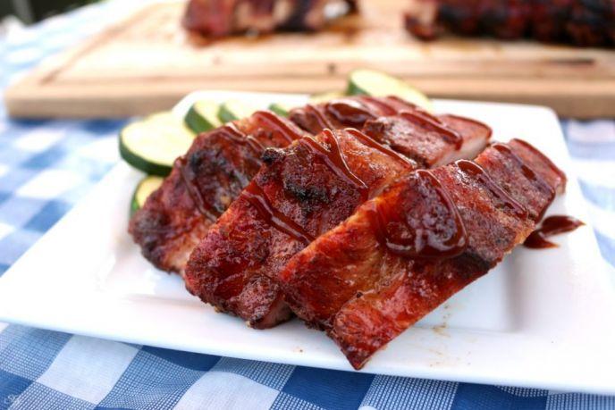 BBQ Ribs with Apple Cider Wet Rub Recipe