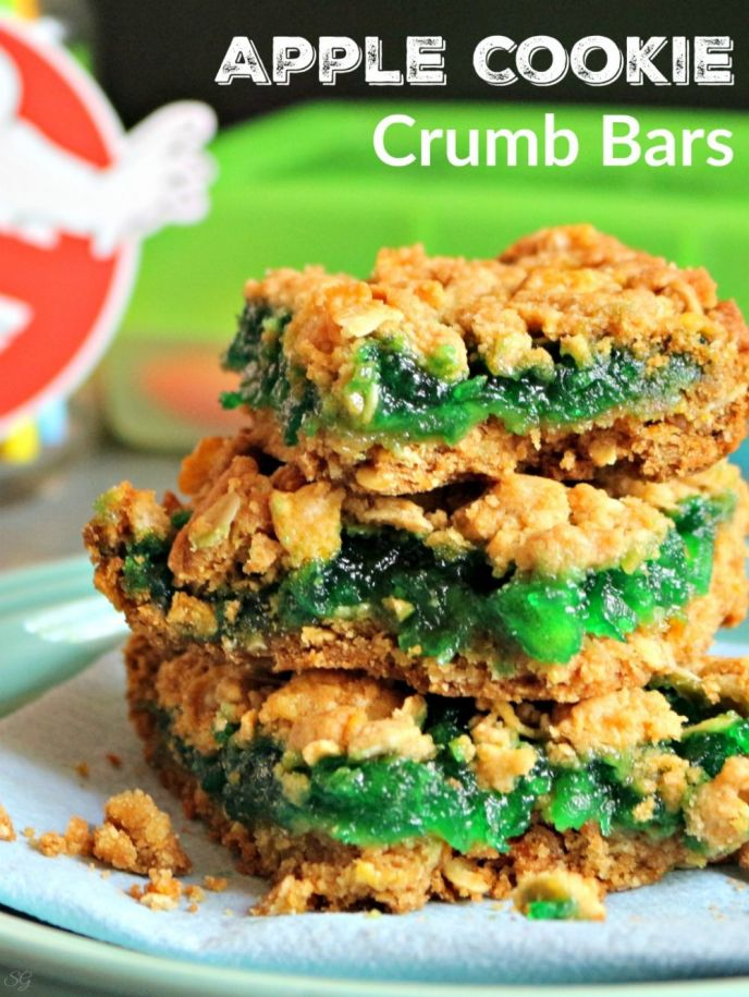 Apple Cookie Crumb Bars Recipe