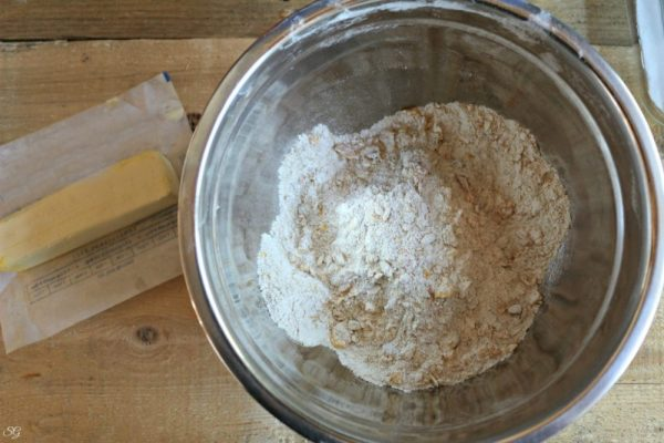 Dry Ingredients for Cookie Bars