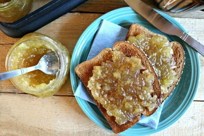 3 Ingredient Apple Jam Recipe