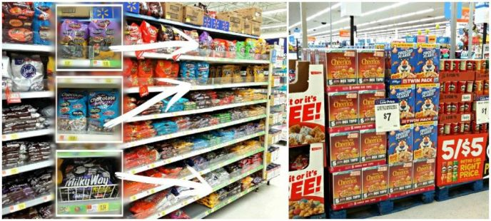 Back to School MARS and Kellogg's at Walmart