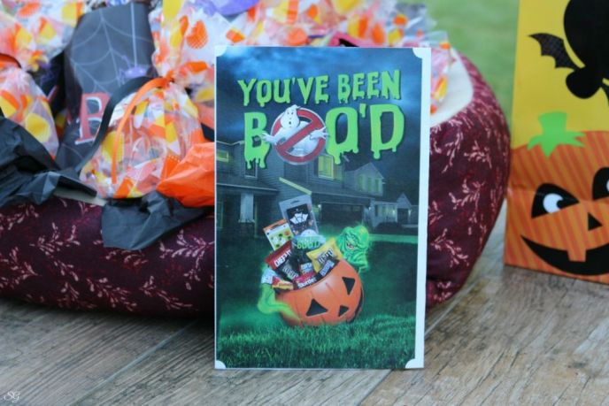 Halloween Gift, BOO it Forward Card
