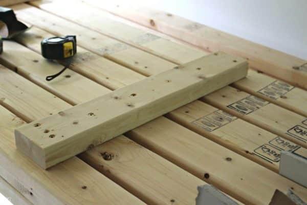 2x4 Garage Shelving DIY Project