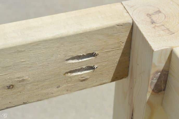 Easy Rustic Bench Build with Kreg Jig