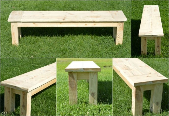 Easy DIY Seating Bench Tutorial