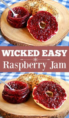 Easy Raspberry Jam Recipe with Only 2 Ingredients