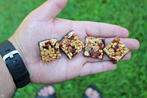 Snacking on the go with goodnessknows® snack squares