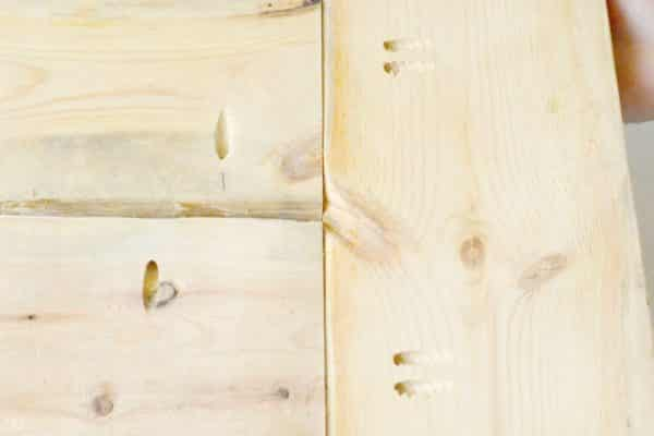 Drill Pocket Holes for Bench Seating