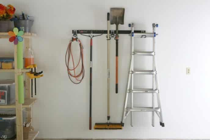 Rubbermaid FastTrack Garage Organization Rail System