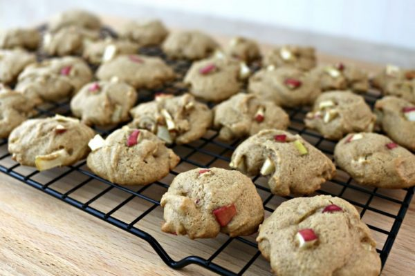 Cooling Rack with Apple Cinnamon Cookies