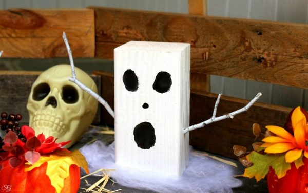 DIY Ghost Halloween Decor