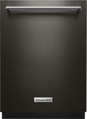 KitchenAid Black Stainless Dishwasher