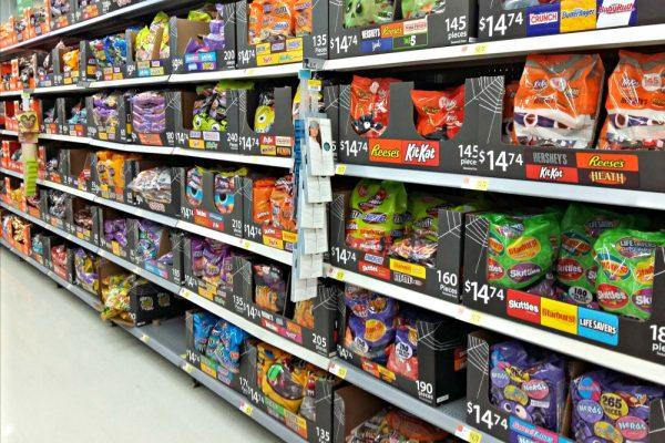 MARS Halloween Candy at Walmart